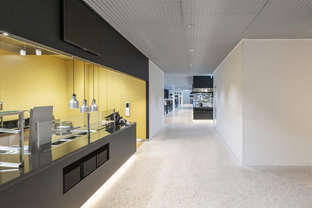 Pius Amrein Photography Personalrestaurant Schindler Visitorcenter