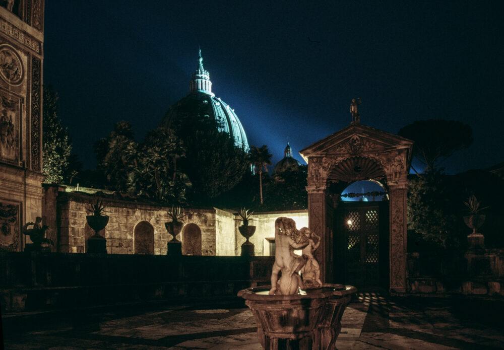 Vaticano, Giardini Vaticani 1991