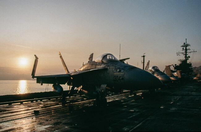 Operation Desert Storm, USS America 1991